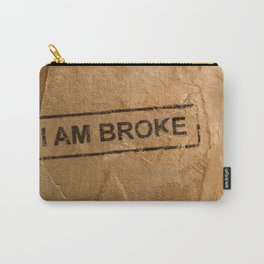 Broke Carry-All Pouch