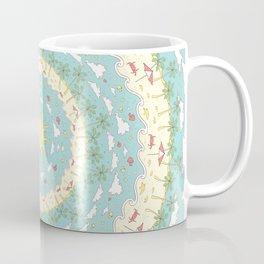 Eternal Beach Mandala Coffee Mug