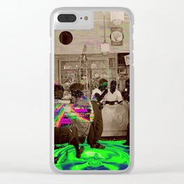 the Tempo of Bottoms up Clear iPhone Case