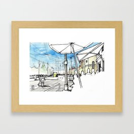 Belem District, Lisbon Framed Art Print