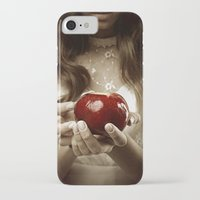 fairy tale iPhone & iPod Cases featuring Fairy Tale by Judy Hung