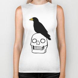 Crow and Skull Biker Tank