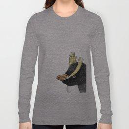 Erect Crested Penguin Long Sleeve T-shirt