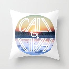 Cali to Hali Throw Pillow