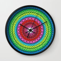 Mandala of Inner Peace Wall Clock