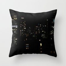 1 city night Throw Pillow