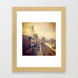 Marcy Ave. Brooklyn Framed Art Print