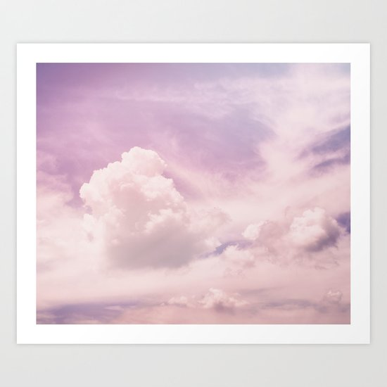 Upon The Clouds Art Print