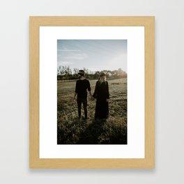Tied in Love II Framed Art Print