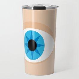 an eye Travel Mug