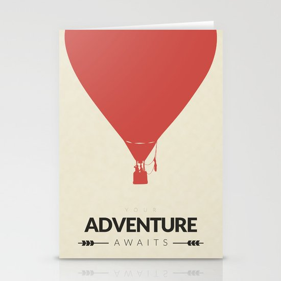 Your Adventure Awaits Stationery Cards