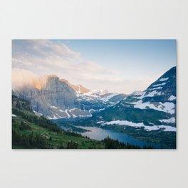 Hidden Lake, Glacier National park Canvas Print