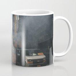 New York on Fujifilm Superia 200 Coffee Mug