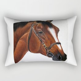 Warmblood Rectangular Pillow
