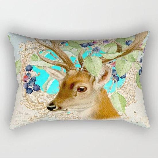 Winter animal #11 Rectangular Pillow