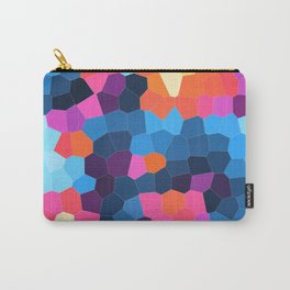 Geometric Brights Carry-All Pouch