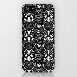 Dark Gothic Naturalist iPhone Case