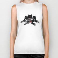 Cat Feast Biker Tank