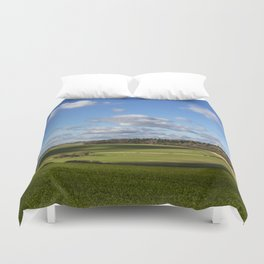 Views of Wiltshire. Duvet Cover