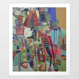 Concrete Jungle Love Art Print