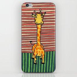 Mrs. Giraffe iPhone Skin