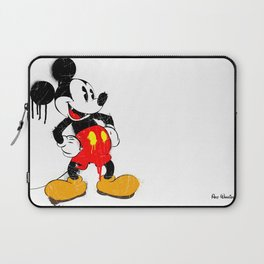 Mickey The Warrior Mouse Laptop Sleeve
