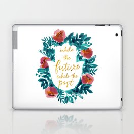 Inhale the Future in Blue Laptop & iPad Skin