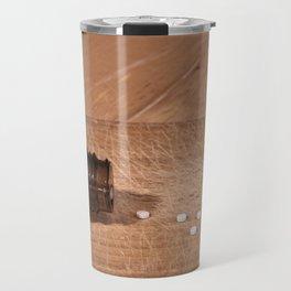 Pills and bottle concept Travel Mug
