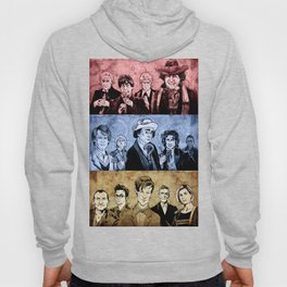 Doctor Who - Three Colours Who Hoody