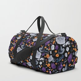 Halloween-Black Background Duffle Bag