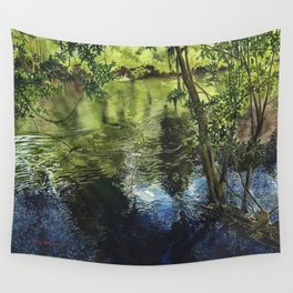 Peace River II Wall Tapestry