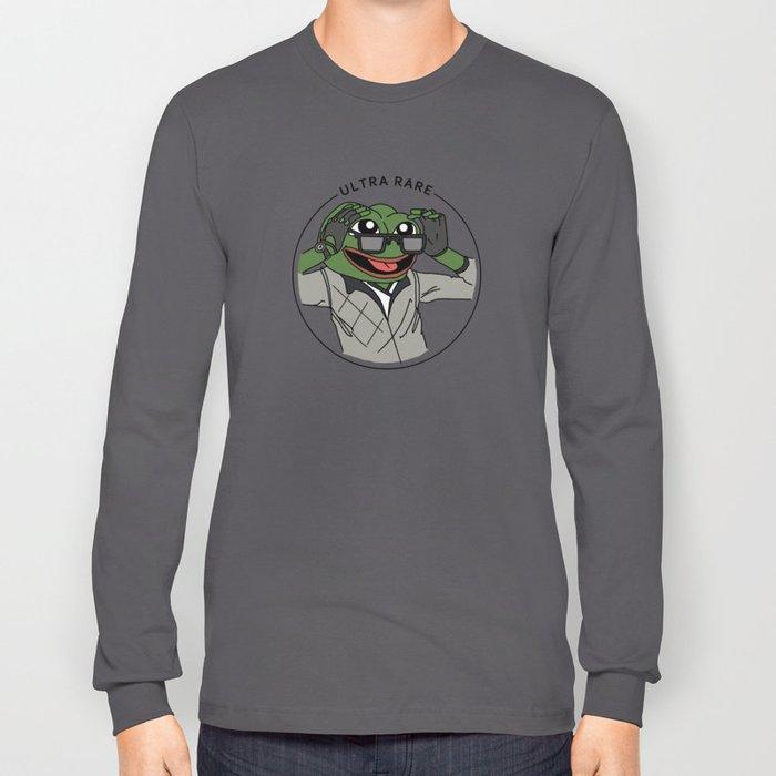 e3c9ae937c ULTRA RARE PEPE DO NOT SHARE Long Sleeve T-shirt by trustybot