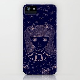 I am 'BOW'led over by you iPhone Case