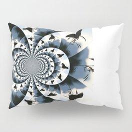 Silhouette Butterflies  Pillow Sham