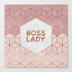 Boss Lady / 2 Canvas Print