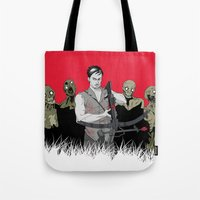 daryl Tote Bags featuring Daryl Dixon by ArtisticCole