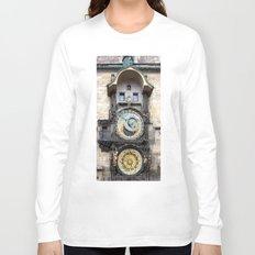 Prague Astronomical Clock Long Sleeve T-shirt