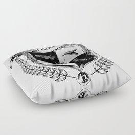 Sit Vis Nobiscum Floor Pillow