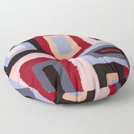 Spacetime connections Floor Pillow