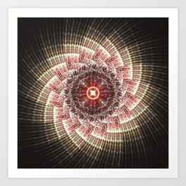 Fractality - Virial Art Print