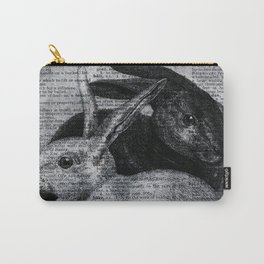 Dictionary Bunnies by Kathy Morton Stanion Carry-All Pouch