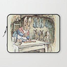 Josephine Rabbit in the Kitchen Laptop Sleeve