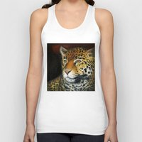 jaguar Tank Tops featuring Jaguar by Claudia Hahn