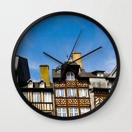 Places des Lices Wall Clock
