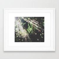 jungle Framed Art Prints featuring Jungle by Luke Gram