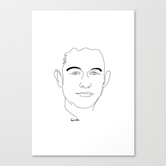 Portrait: Joseph Gordon-Levitt Canvas Print