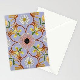 Banksia mandala Stationery Cards