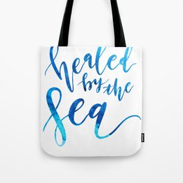 healed by the sea (watercolor) Tote Bag