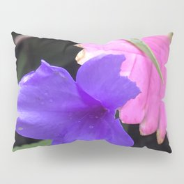 Tropical Island-Style Poetic Flowers of Elegance Pillow Sham