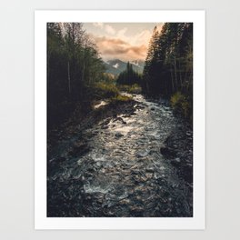 The Sandy River II Art Print